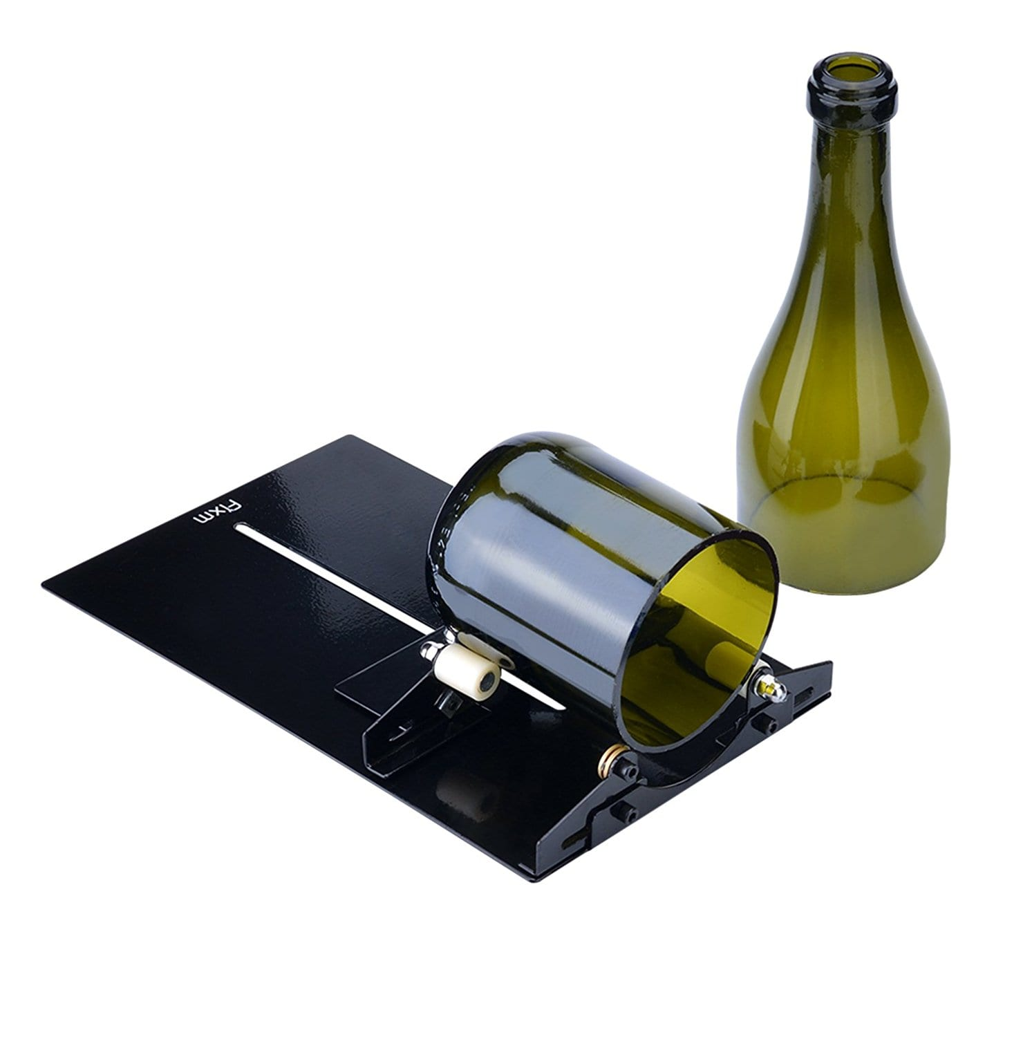 Cut Glass on bottle cutter