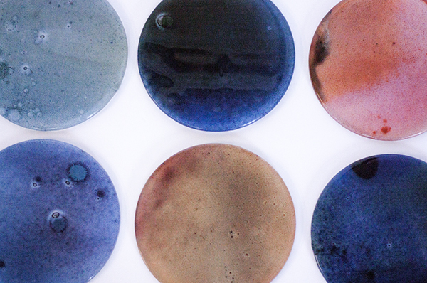 Stained Glass Plates