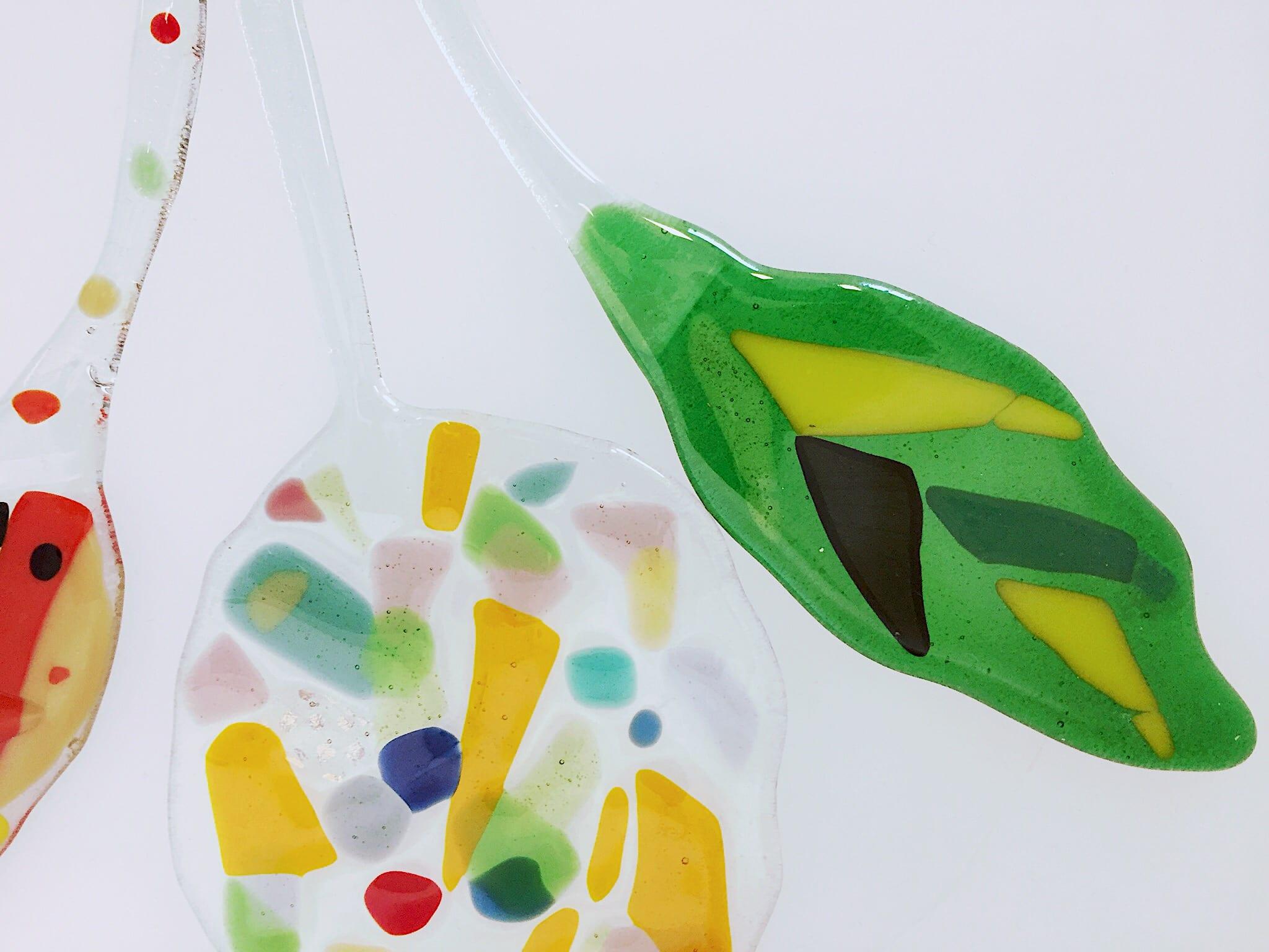 Handmade decoration from Glass