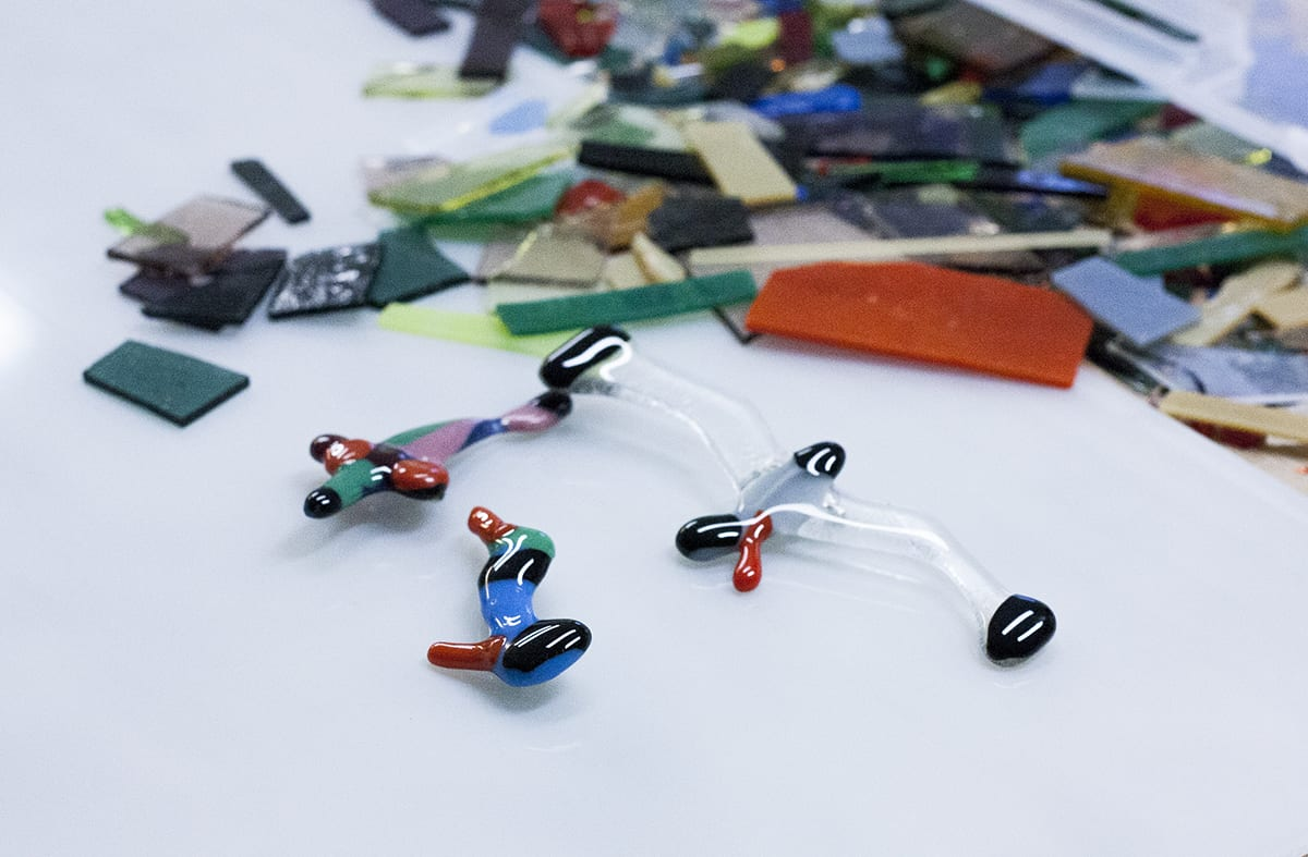 Handmade Jewelry from Glass. Bird for glass. DIY Workshop at Glass Point