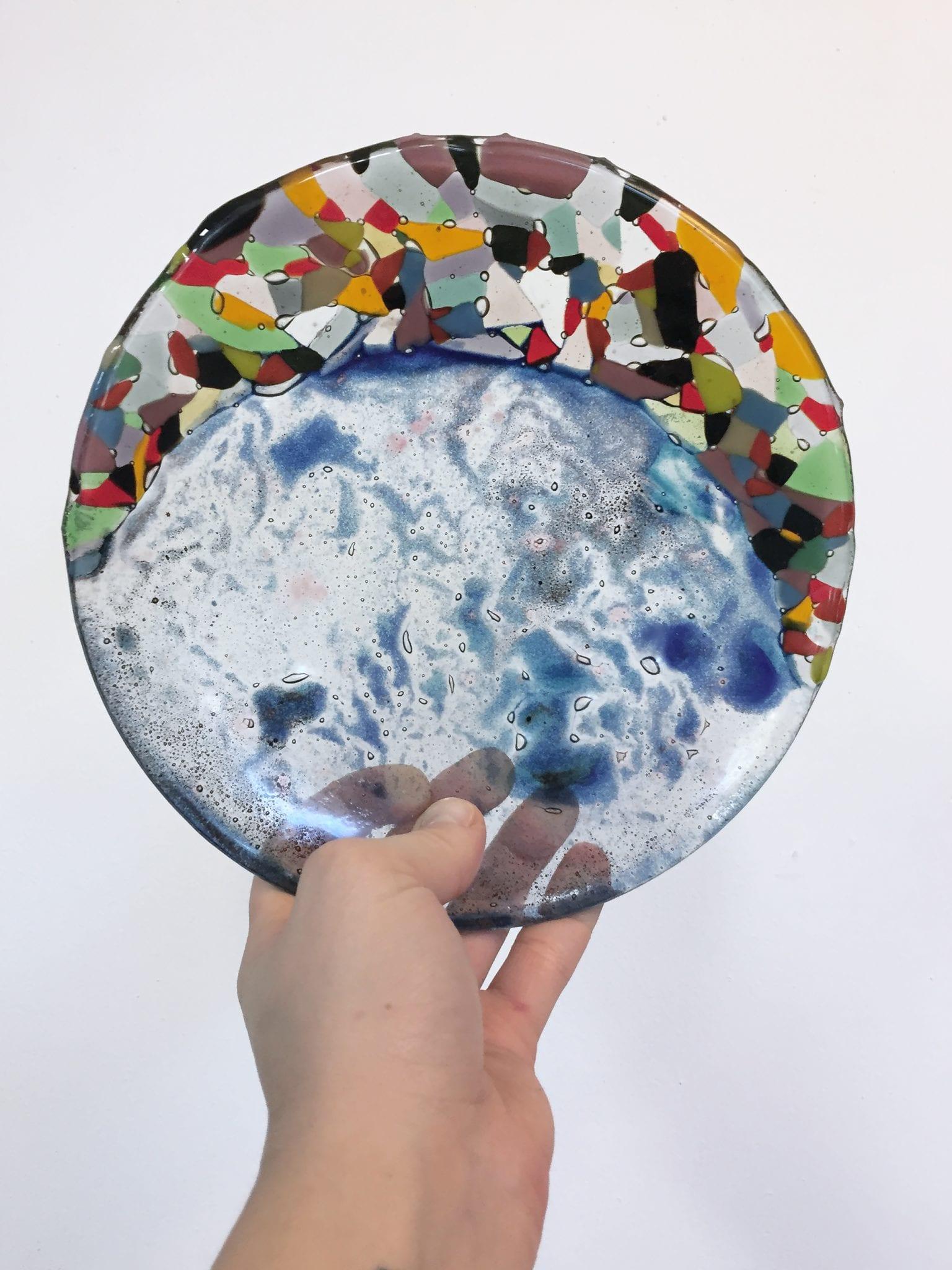 Мастер-класс - Разрисовывание стекла и техника фьюзинг. Glass-Point