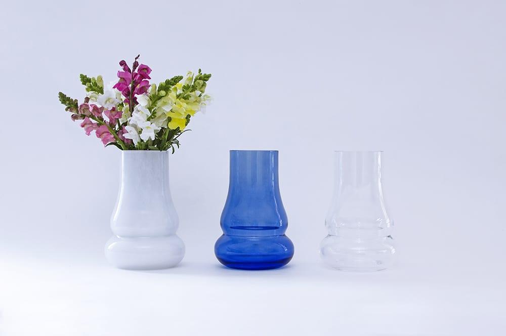 """Коллекция """"Движение"""". Ручная работа. Минималистический и элегантный дизайн. ваза. Плавленое стекло. Glass Point"""