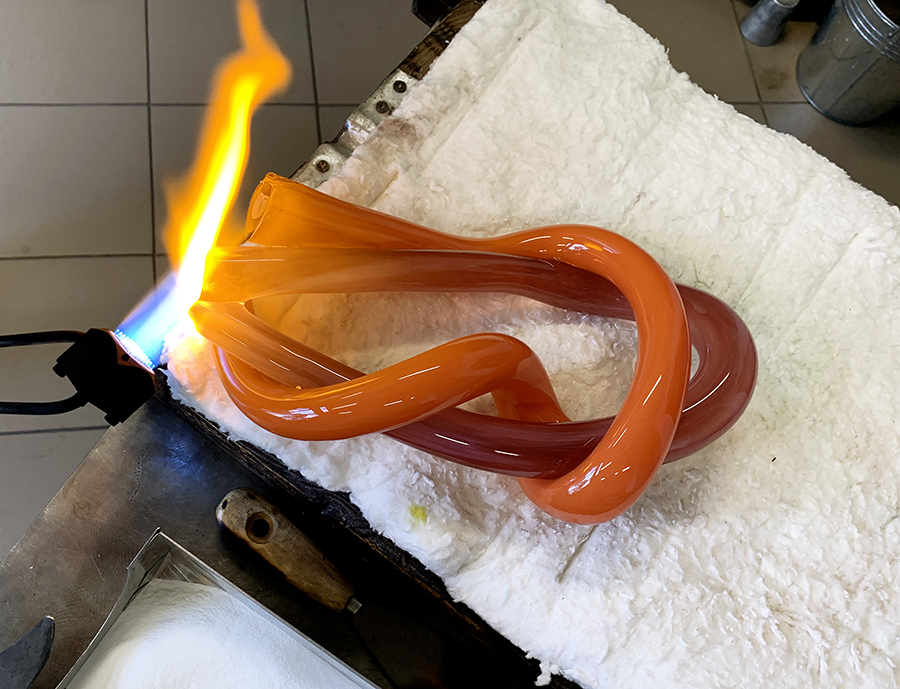 Process of making Awards and Trophies from Glass. Glass Point