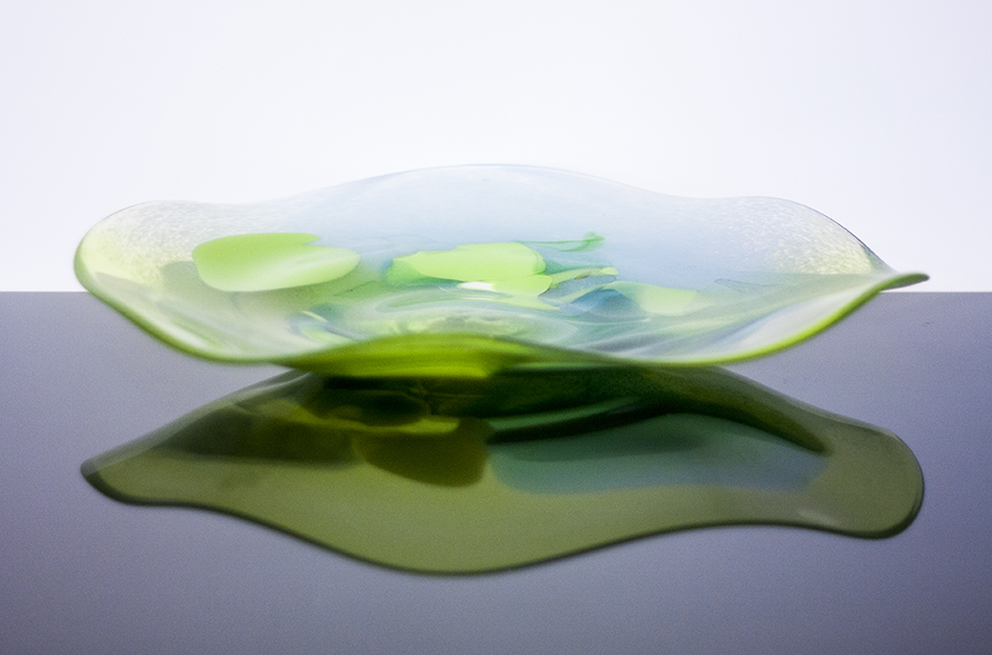Unique Handmade Corporate Glass Gifts and Souvenirs. Large Glass Plate. Glass Point