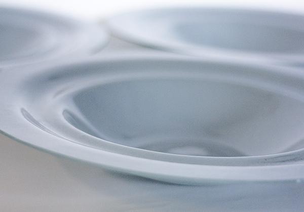 """Коллекция """"Движение"""". Ручная работа. Минималистический и элегантный дизайн. Тарелка для фруктоф. Glass Point"""