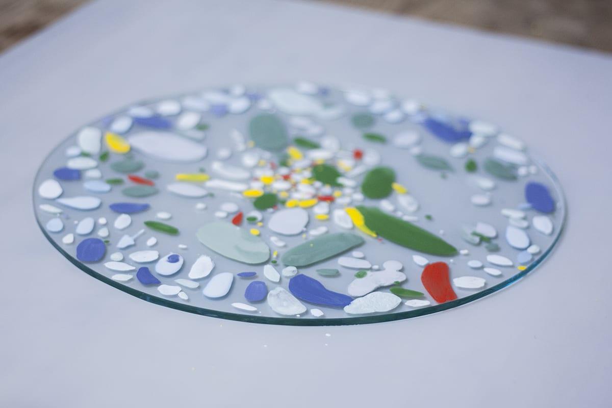 Мастер-класс разрисовывания красками стеклянной посуды. Glass Point
