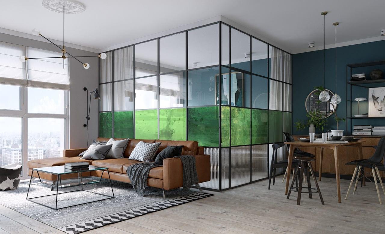 Уникальный стеклянный дизайн в интерьере. Панели из плавленого стекла в дизайне интерьера. Glass Point