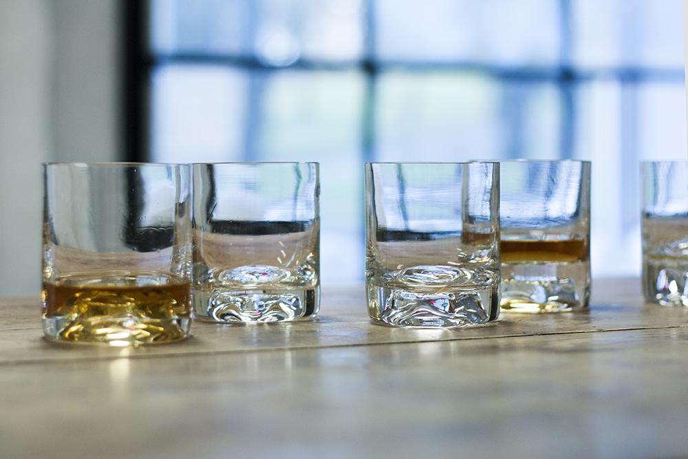 Custom handmade Glass Items. Unique set of whiskey glasses. Glass Point
