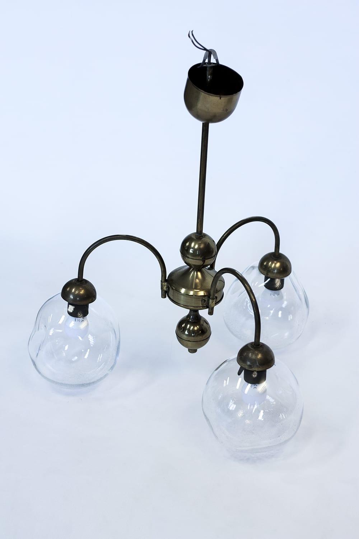 Glass Lighting solutions. Handmade custom blown glass chandelier lamp. Glass Point