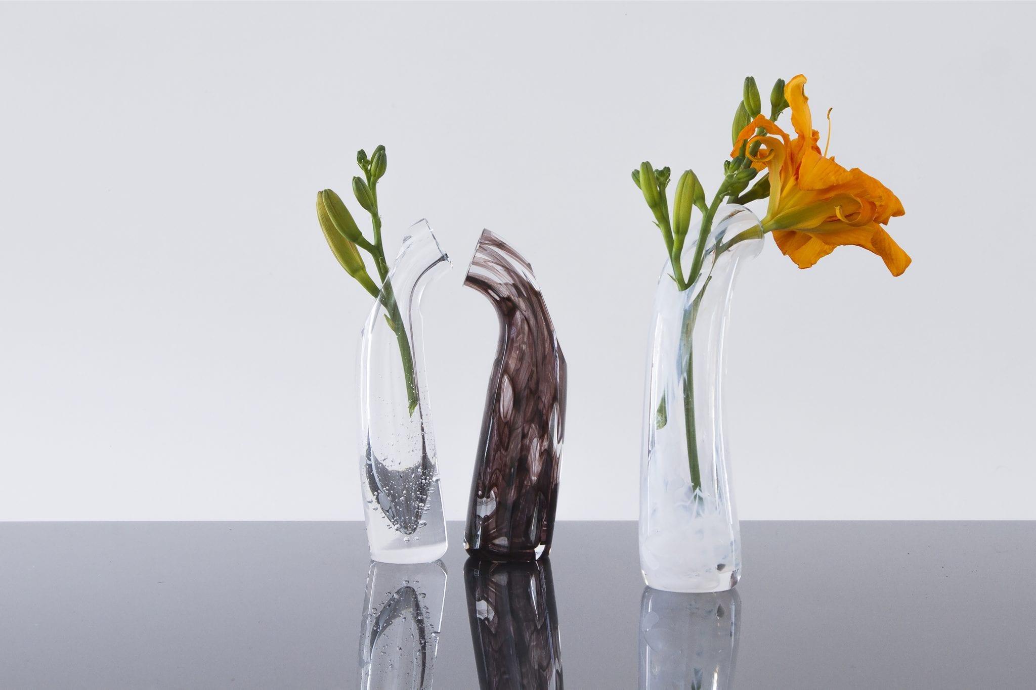 Custom handmade Glass Items. Unique glass vase. Glass Point