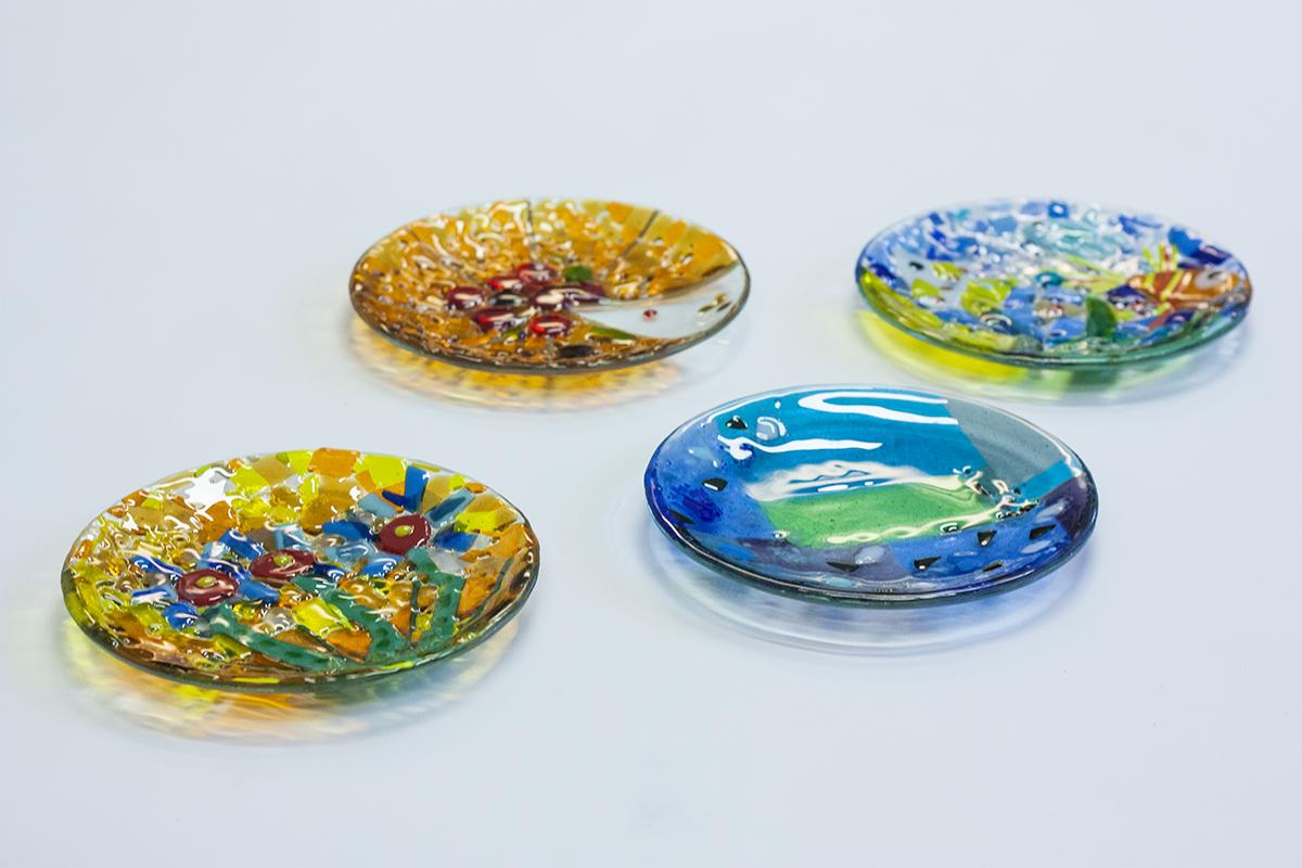 Мастер-класс по изготовлению мозаичной посуды. Glass Point