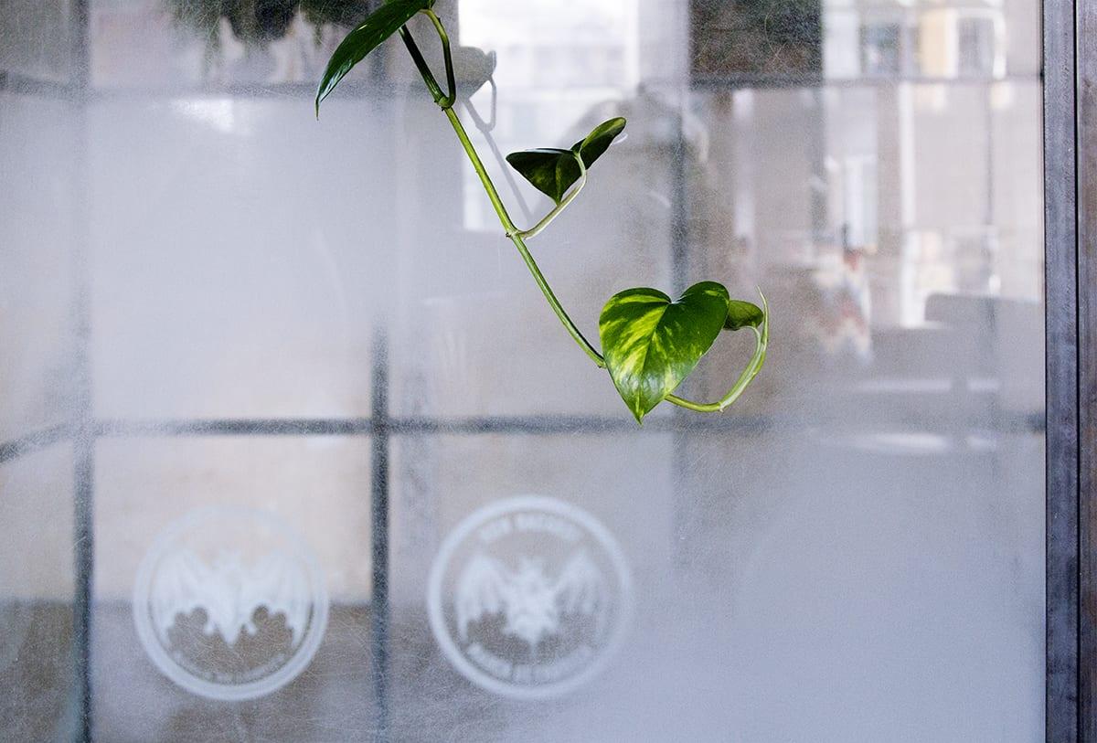 Unikāls roku darbs. Stikla dizains interjerā. Glass Point