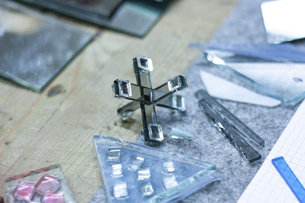 Stikla skulptūru radošā darbnīca, meistarklase, Glass Point