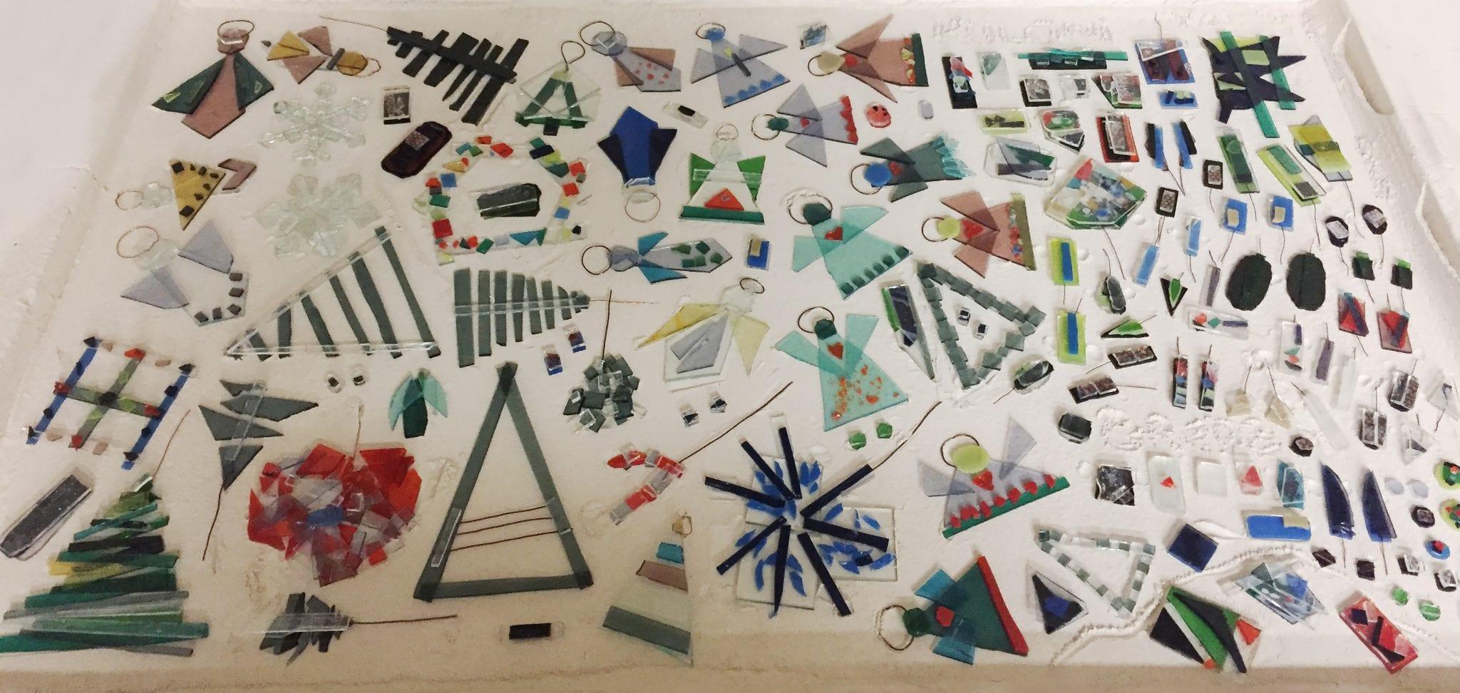 Stikla dekoru radošās darbnīcas process, meistarklase. Glass Point