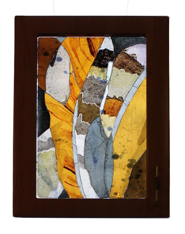 Unikāla Vitrāža. Individuāls autordarbs - Anna Varnase. Glass Point