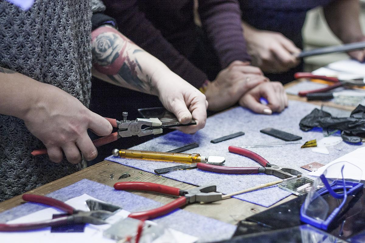 Stikla skulptūru radošā darbnīca, meistarklase, Darināšanas process, Glass Point