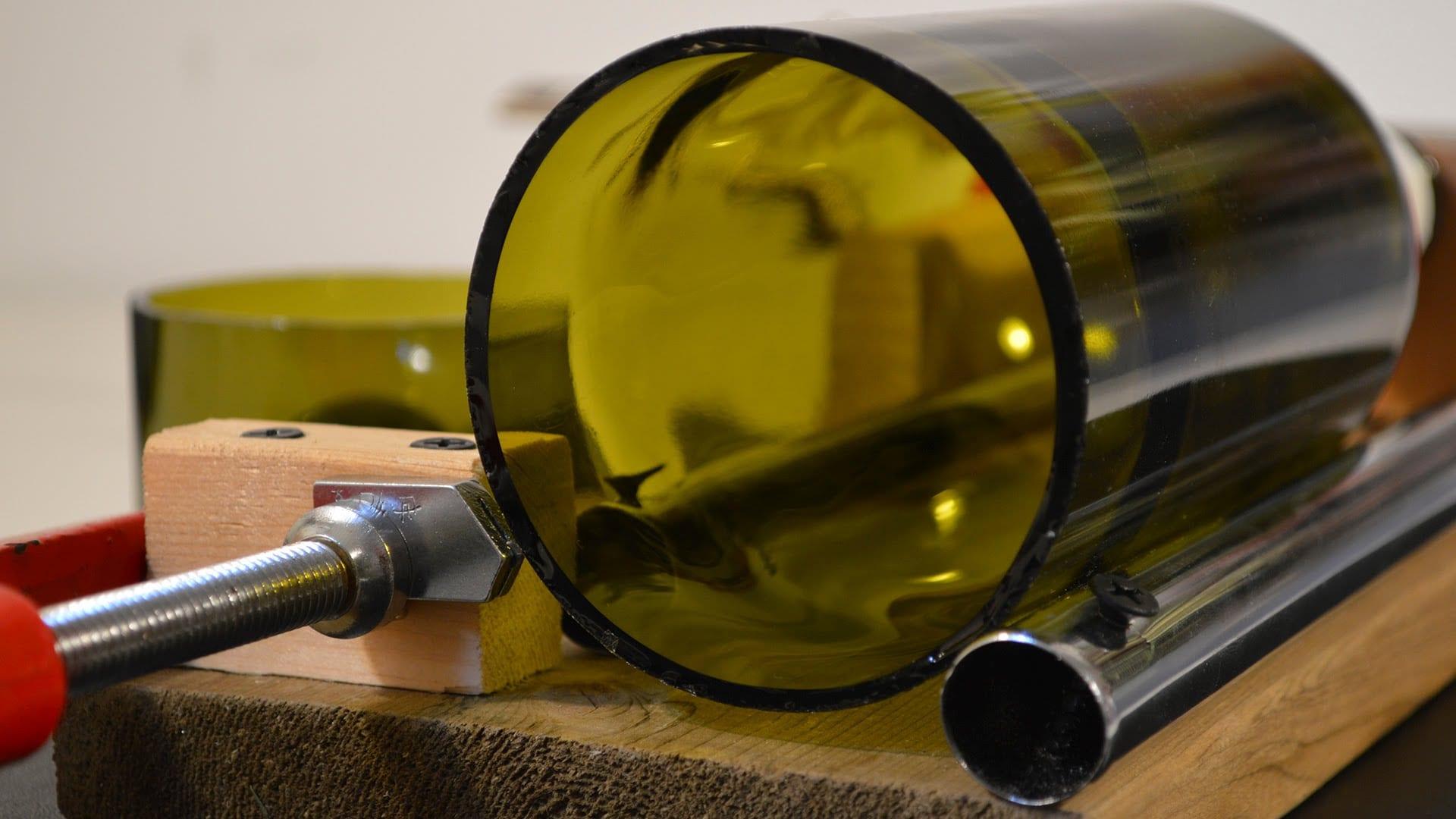 Stikla pudeļu griešana radošā darbnīca, meistarklase, Glass Point, DIY